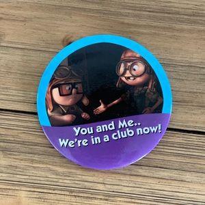 Carl & Ellie Button Pixar's Up